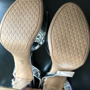 Chinese Laundry Shoes - Chinese Laundry Theresa Platform Sandals Silver